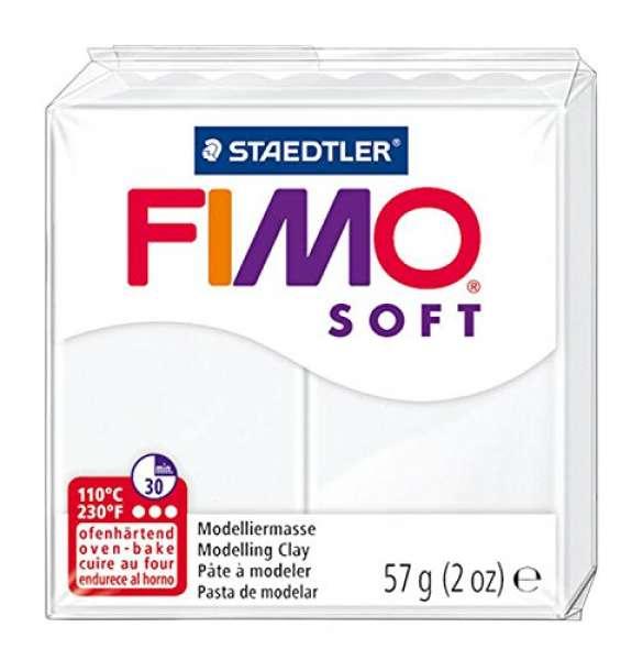 Fimo soft 57g weiß
