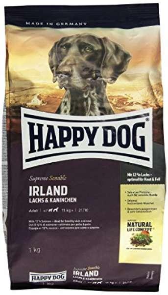 Happy Dog Sensible Irland mit Lachs & Kaninchen