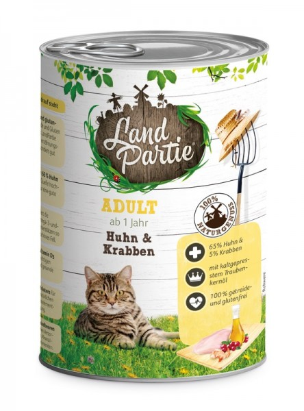 LandPartie ADULT - Huhn&Krabben - 400g