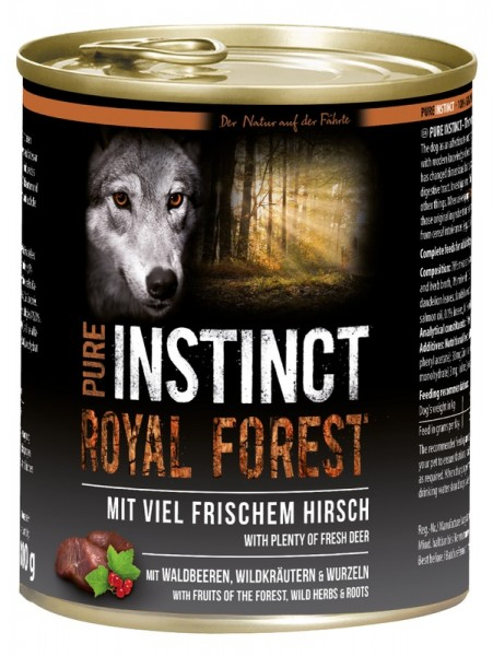 PURE INSTINCT ROYAL FOREST 800g