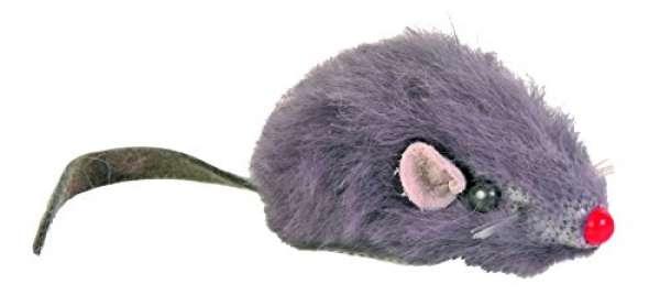 Trixie Plüschmäuse mit Schelle 5cm