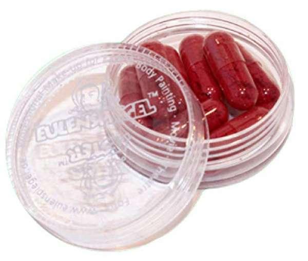 Gelatine Blutkapseln 8 Stück befüllt