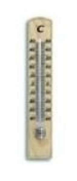Zimmer-Thermometer 20cm Buche