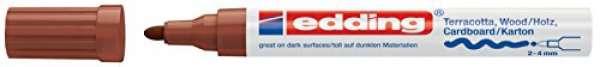 e-4000 Mattlack-Marker braun