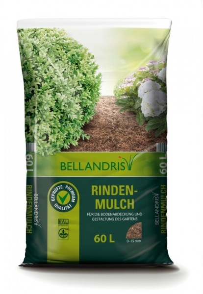 Bellandris Rindenmulch 00-15mm 60L