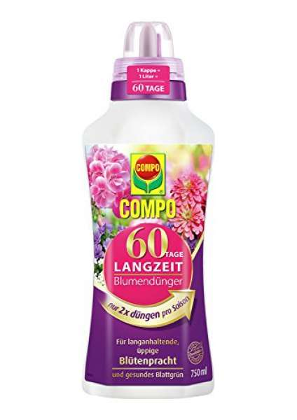 COMPO 60 Tage Langzeit Blumendünger 750ml
