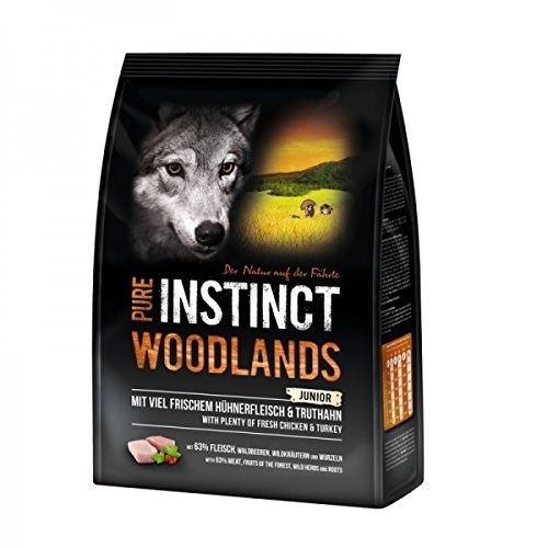 Pure Instinct Woodlands Junior mit Huhn & Truthahn 1kg