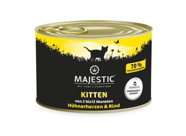 MAJESTIC Rind & Hühnerherzen 200g