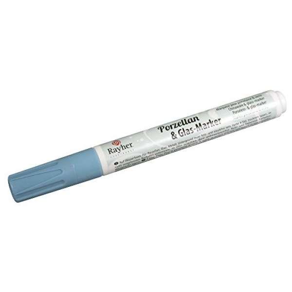 Porzellan&Glas-Marker azurblau