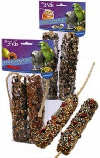 JR Farm Birdy's Banane-Dattel-Himbeere 2 Stück