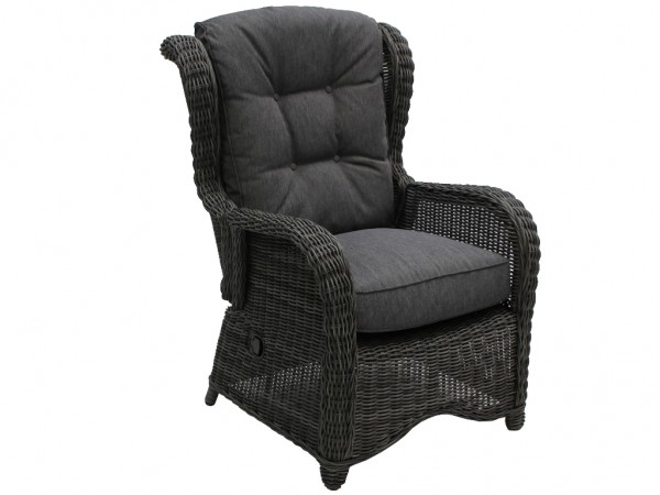 Loungesessel Broadway light charcoal