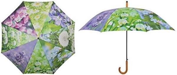 Regenschirm Blumen 106x17x40,5cm