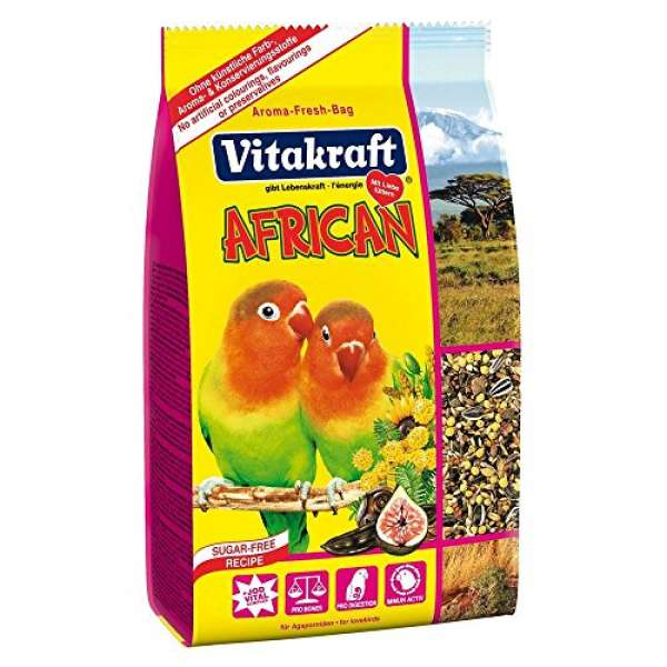 Vitakraft AFRICAN für afrikanische Kleinpapageien 750g