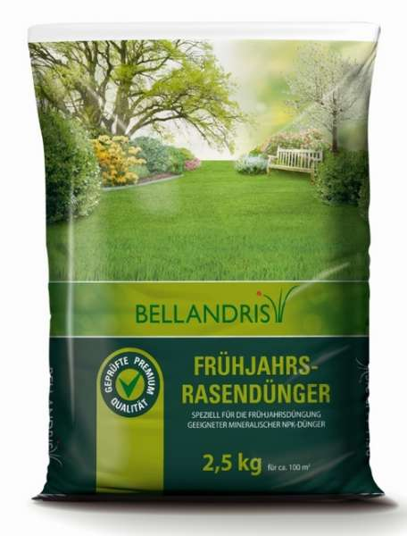 Frühjahrs Rasendünger 02,50kg Bellandris