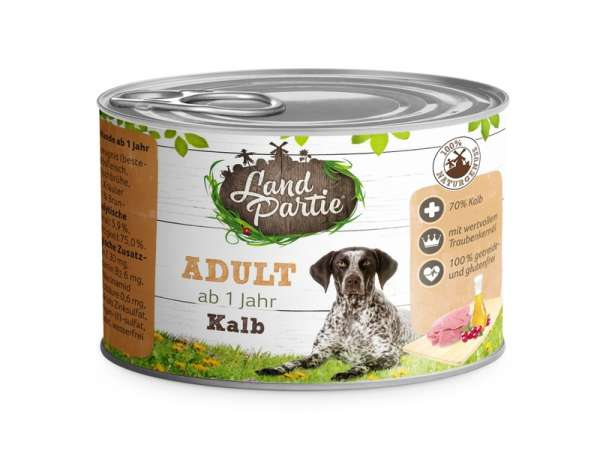 LandPartie ADULT - Kalb - 200g