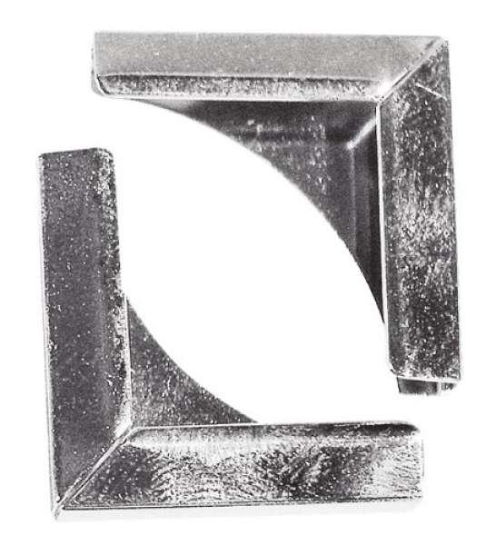Metallecken silber