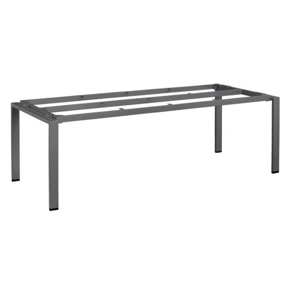 Tischgestell Float 220x95cm anthrazit