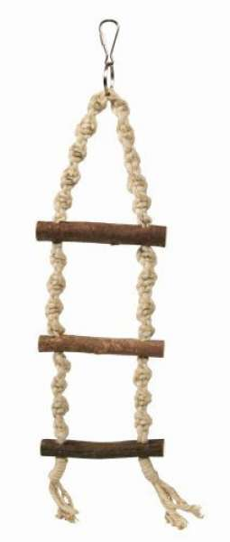 Trixie Natural Living Strickleiter, 3 Sprossen/40 cm
