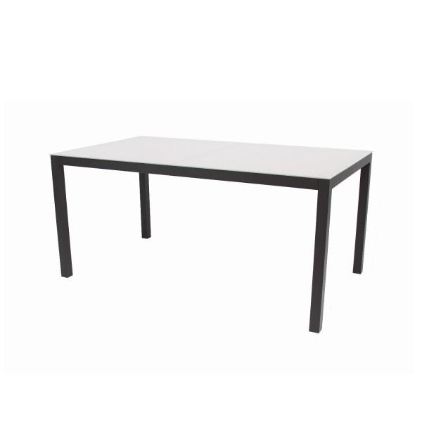 Tisch Sardinien schwarz 160x90cm