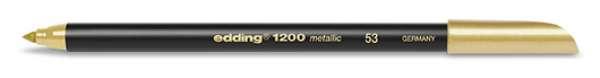 edding 1200 metallic colorpen - 053 Gold Metallic