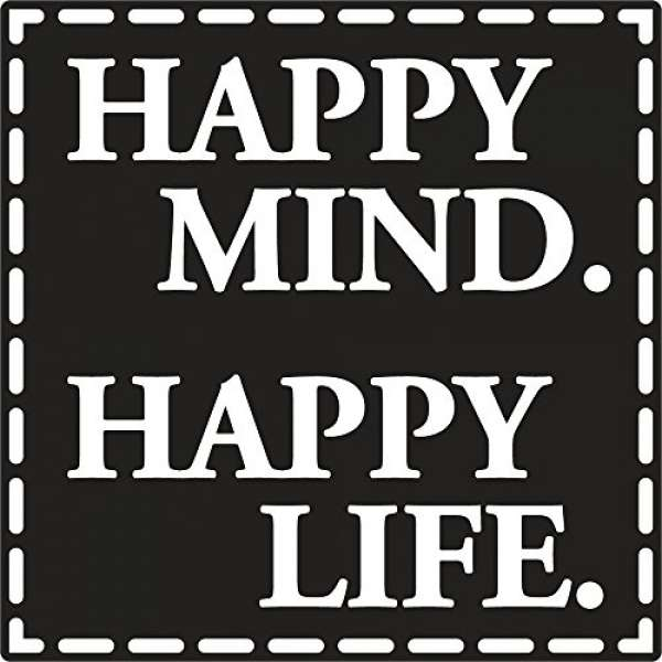 Labels D Happy Mind. Happy Life.
