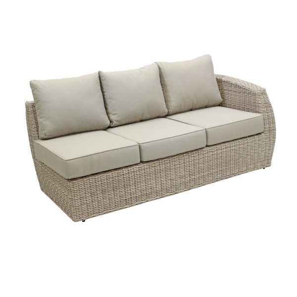 Loungemodul Manacor Links white shell