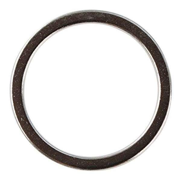 Metall Schmuckring flach D20mm silber