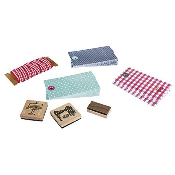 Set Papier Geschenkanhänger