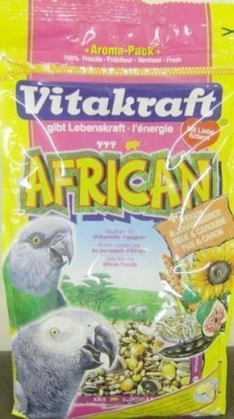 Vitakraft AFRICAN für afrikanische Papageien 750g