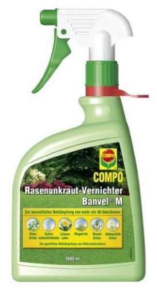 COMPO Rasenunkraut-Vernichter Banvel M AF Spray 1 liter