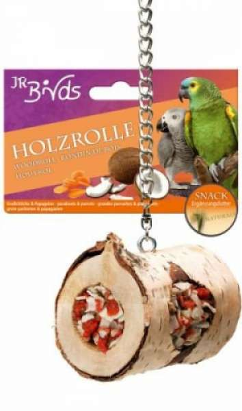 JR Farm Birds 150g Holzrolle GS+Papagei