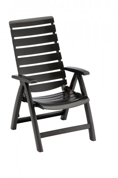 Sessel Rimini hoch amthrazit klappbar