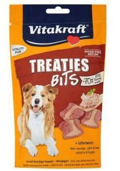 Vitakraft Treaties Bits mit Leberwurst, 120 g