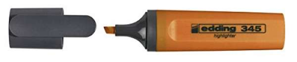 e-345 Textmarker orange