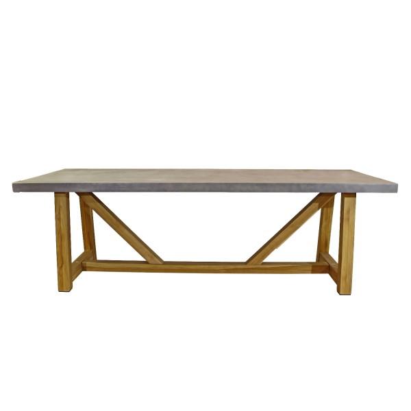 Tisch Da Vinci Teak 240x100cm