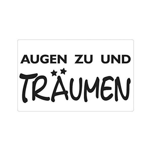 """Label """"Augen zu und Träumen"""""""