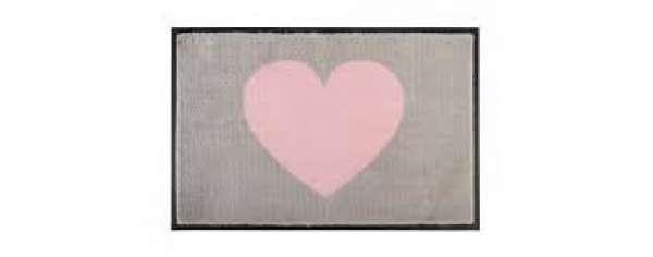FuMa-GY Washables Heart grau