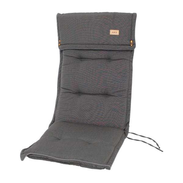 Sesselauflage Black Grey 120