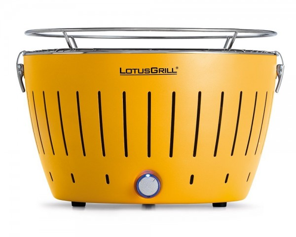 LotusGrill Kohlegrill Mais-Gelb