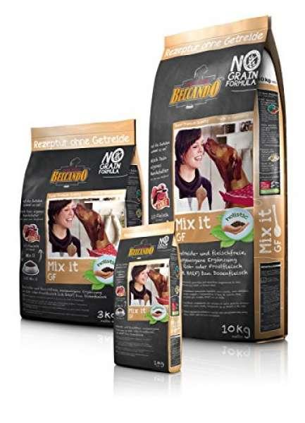 BELCANDO Ergänzungsfuttermittel zur Fleischfütterung MIX IT GRAIN-FREE für Hunde 3,0 kg