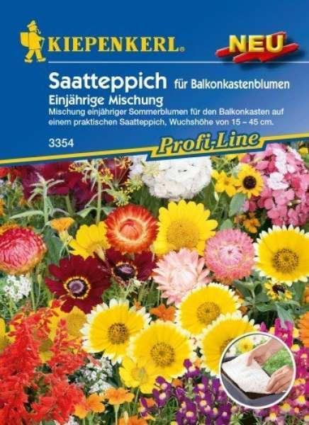 Kiepenkerl Saatteppich für Balkonkastenblumen
