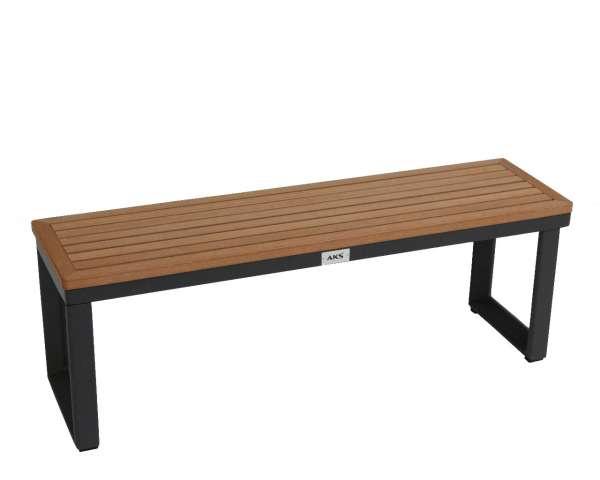 Tisch Prato 100x27,5 cm schwarz