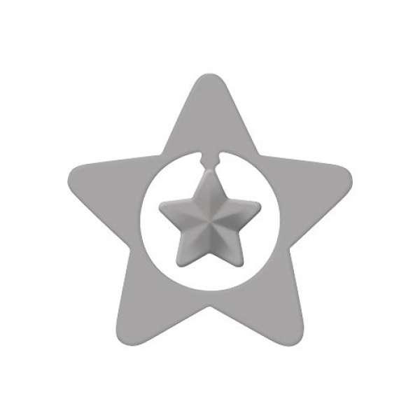 Silhouetten-Stanzer Stern D:4,4cm