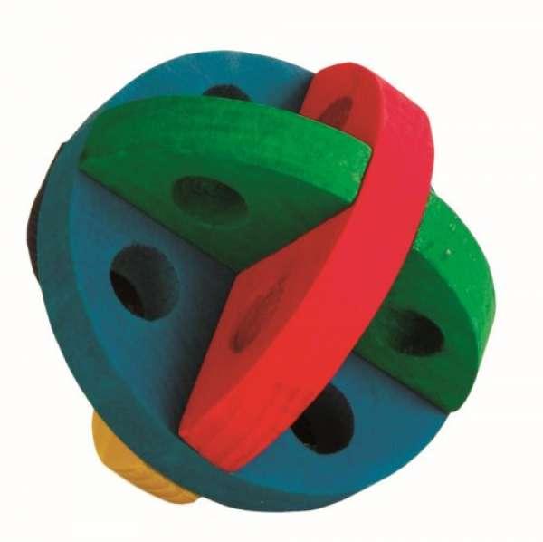 Trixie Spiel- und Snackball Holz, für Nager, ø 8 cm