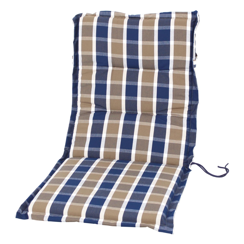 sesselauflage lima blau 109 niedriglehner auflagen kissen gartenm bel bellandris. Black Bedroom Furniture Sets. Home Design Ideas