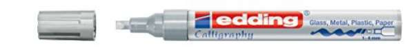e-755 CR calligraphy paintmarker silber