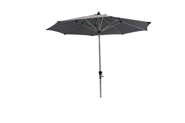 Schirm 270cm dunkelgrau Knick.