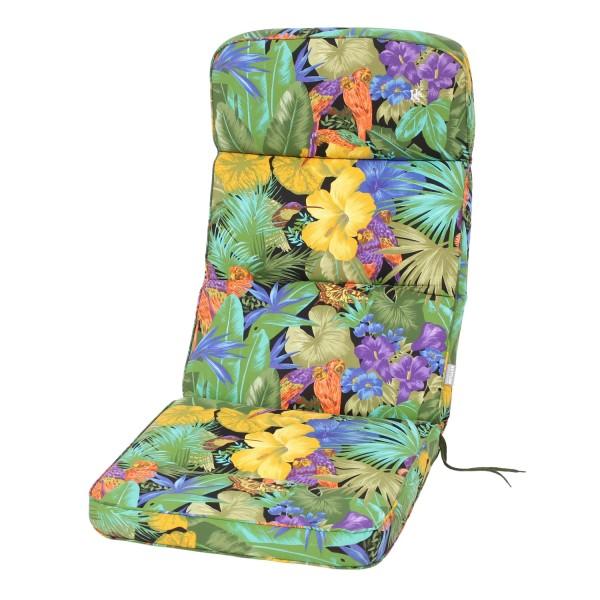 Sesselauflage Papagei123x50 KE