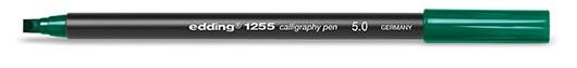 edding 1255 calligraphy pen 5.0 - 025 Flaschengrün