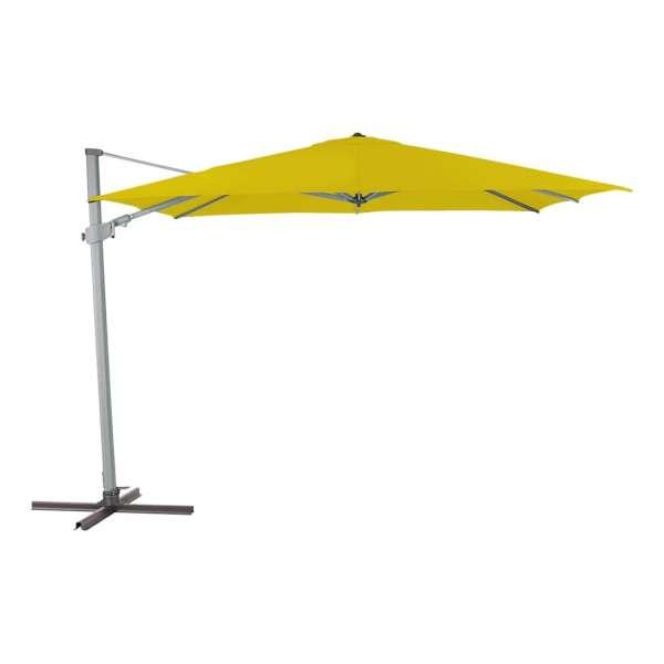Schirm Varioflex 300x300cm gelb 061